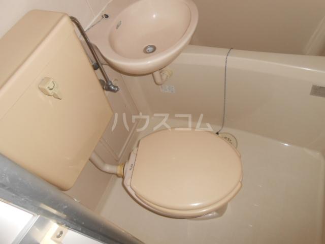 ハイツ・メイフィー 202号室のトイレ