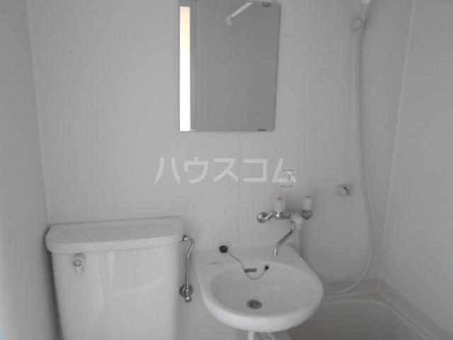 ハイツマックル 203号室の洗面所