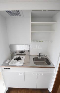 ハイツマックル 203号室のキッチン