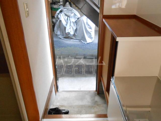 ハイツ・シーウェスト 102号室の玄関