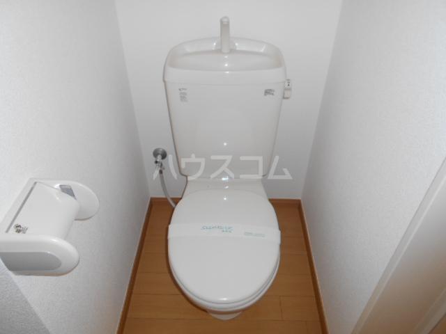 ヒルスミキ上倉田 104号室のトイレ