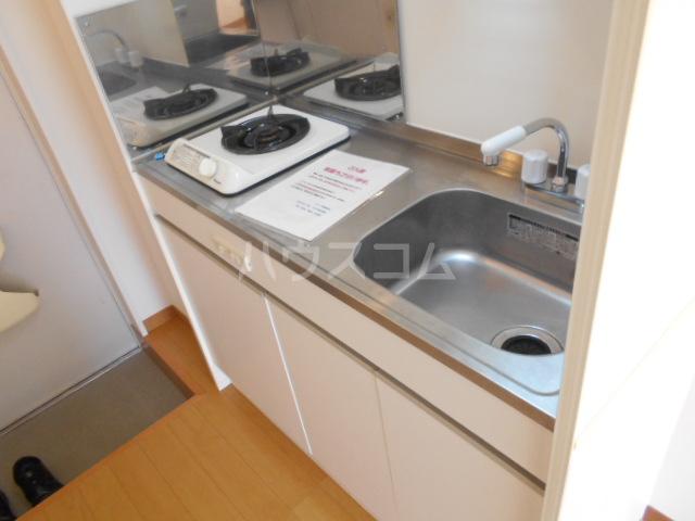ヒルスミキ上倉田 104号室のキッチン