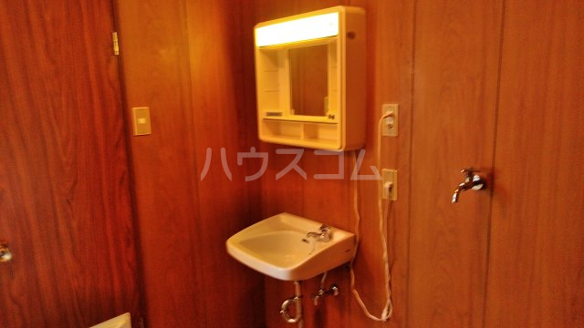 グリーンヒル高田の洗面所
