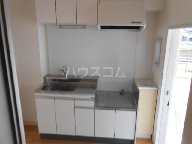 プリズムアピア 103号室のキッチン