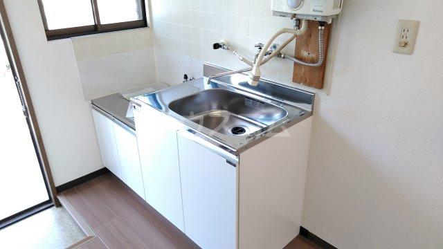 あけぼのハイツ 1-A号室のキッチン