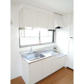 第二セーフズマンション 401号室のキッチン