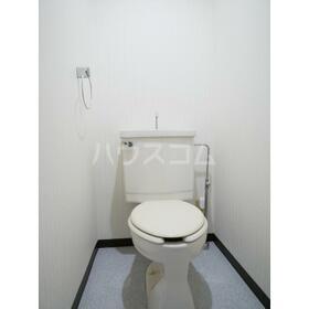第二セーフズマンション 401号室のトイレ