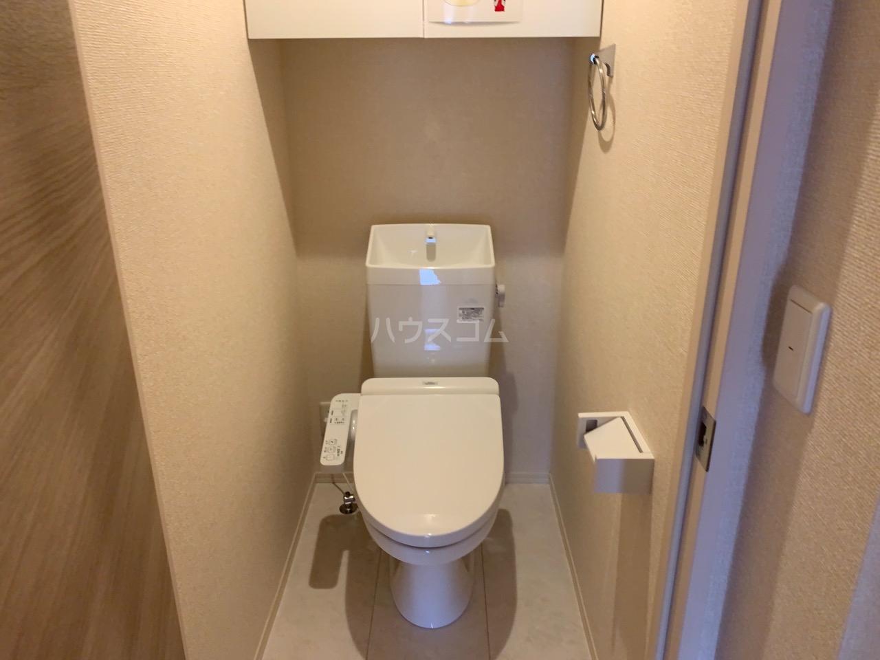 ルミエール 106号室のトイレ
