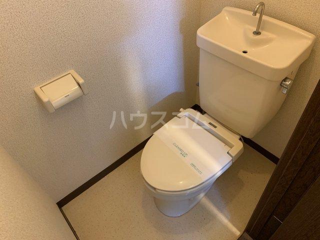 サニーコート伊藤 1-D号室のトイレ