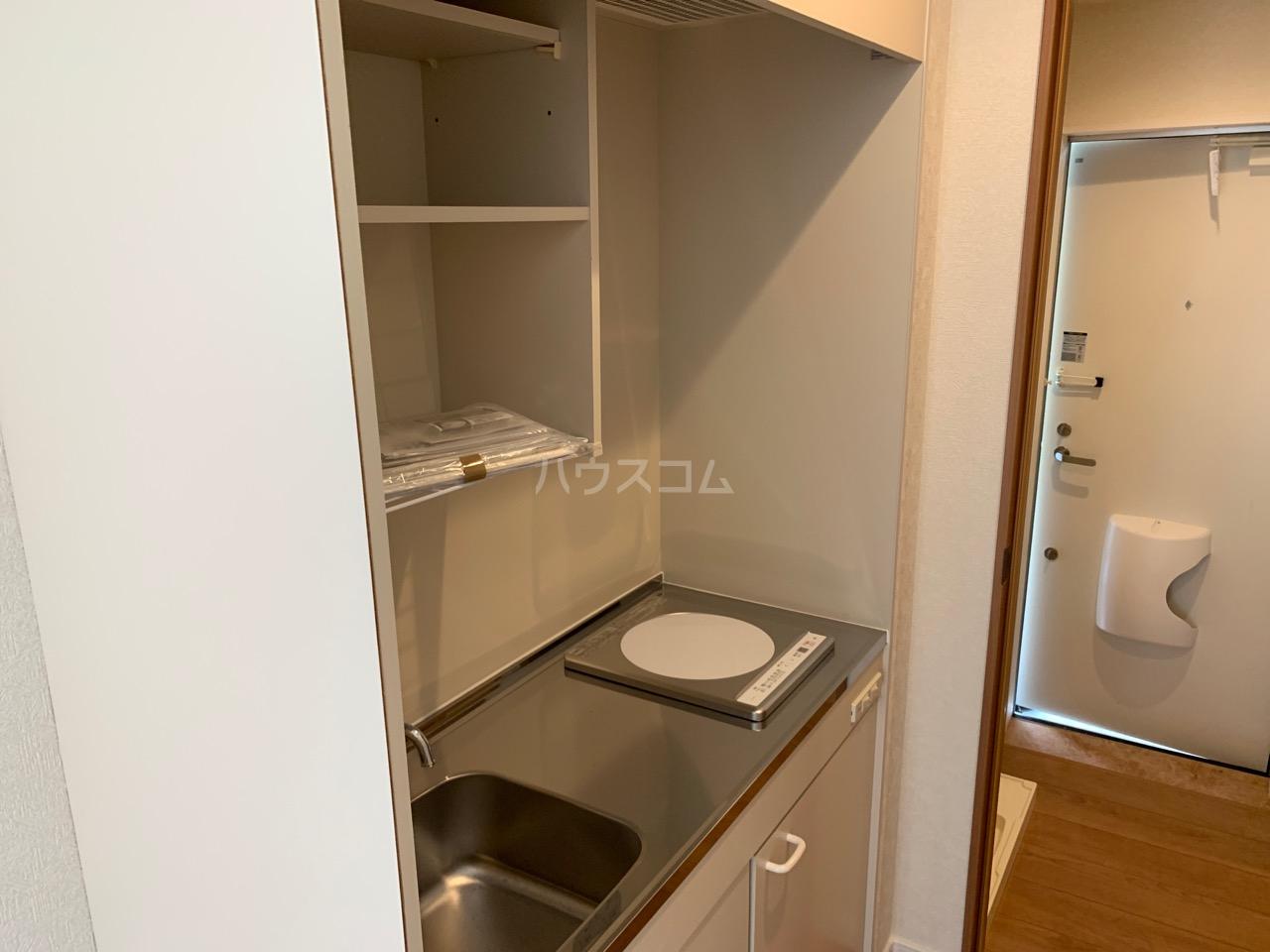 ファインホース白百合 107号室のキッチン