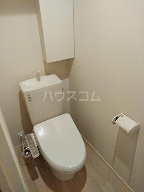 FRESCA 弥生台B 203号室のトイレ