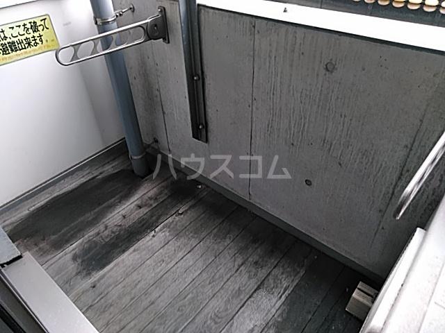 加賀美自動車ビル 202号室のバルコニー