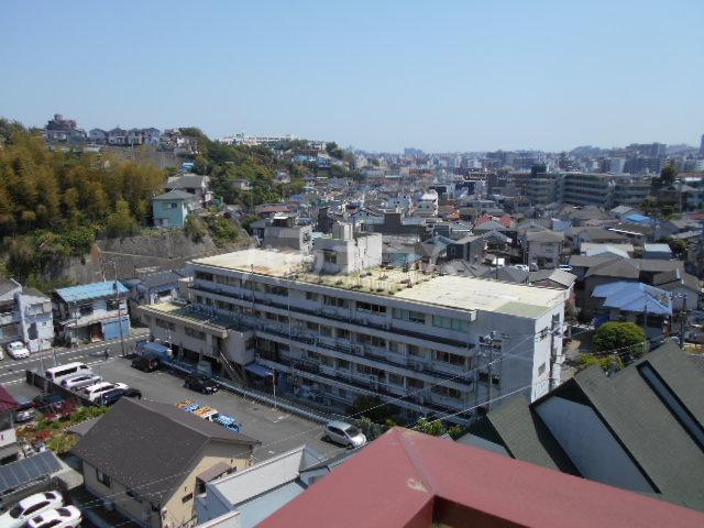 コーポ中川B棟 201号室の景色