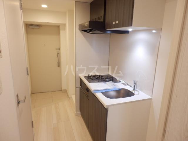 BANDOBASHI KNOTS 803号室のキッチン