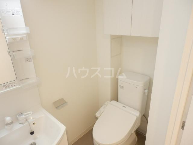 BANDOBASHI KNOTS 803号室のトイレ
