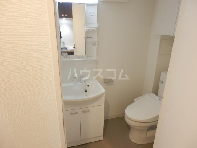 BANDOBASHI KNOTS 803号室の洗面所
