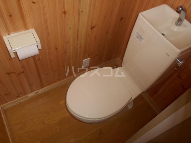 ニューサンシャインホリコシ 102号室のトイレ