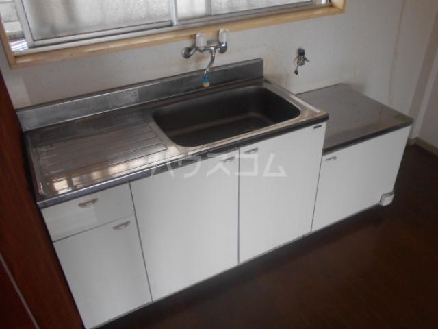 ニューサンシャインホリコシ 102号室のキッチン