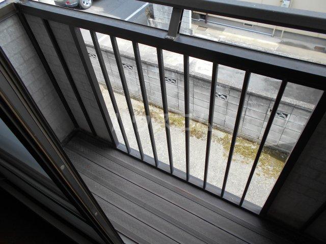 パナハイツヤマキA 202号室のバルコニー