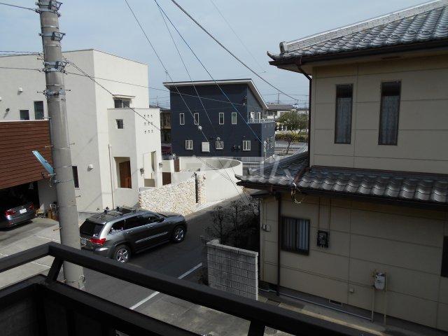 パナハイツヤマキA 202号室の景色