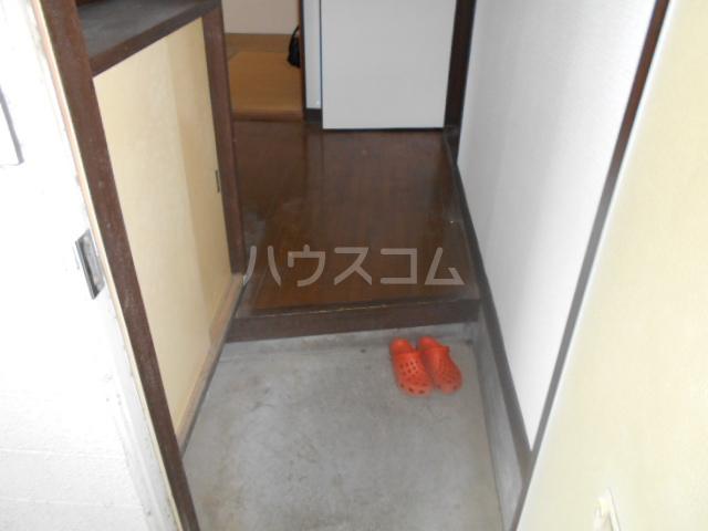 ハイツ本陣 103号室の玄関