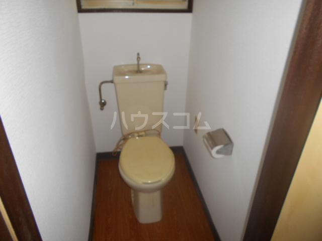ハイツ本陣 103号室のトイレ