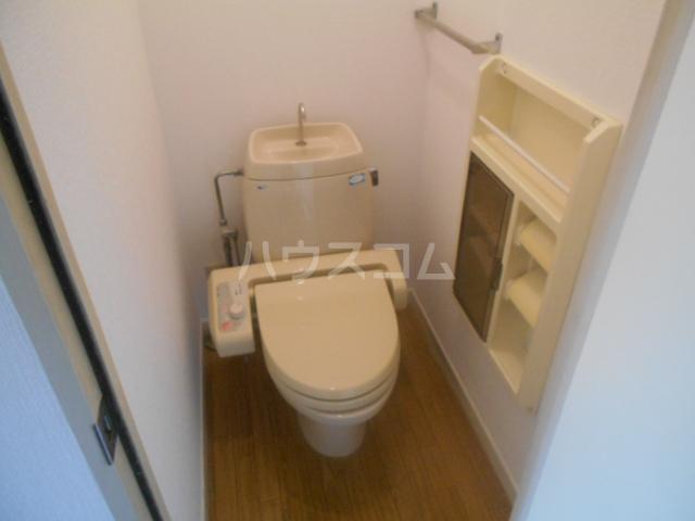 エクセル本陣B 104号室のトイレ