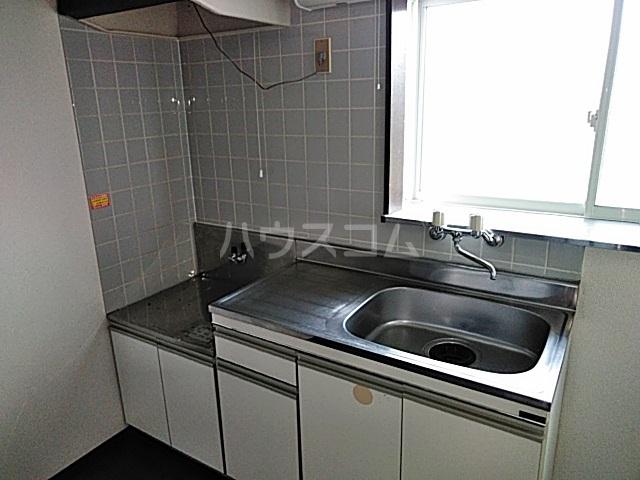 スカイコーポⅠ 202号室のキッチン