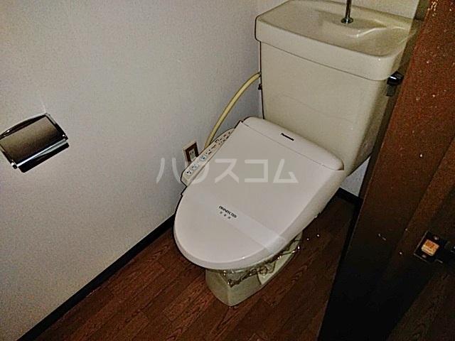 スカイコーポⅠ 202号室のトイレ