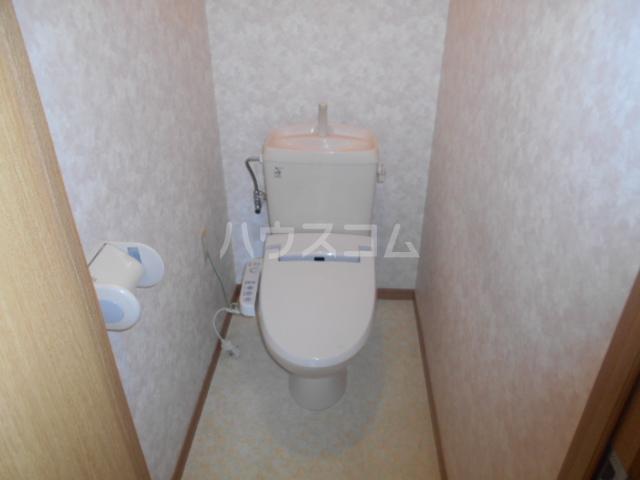 レジデンス恵 101号室のトイレ