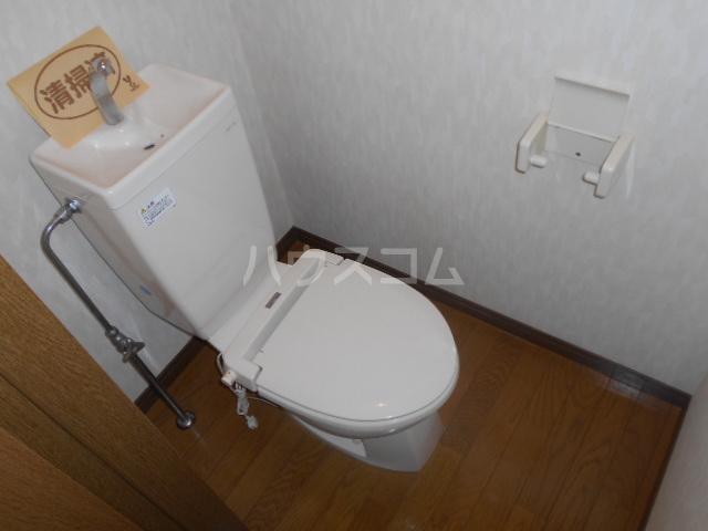 ピュアハイツ 202号室のトイレ