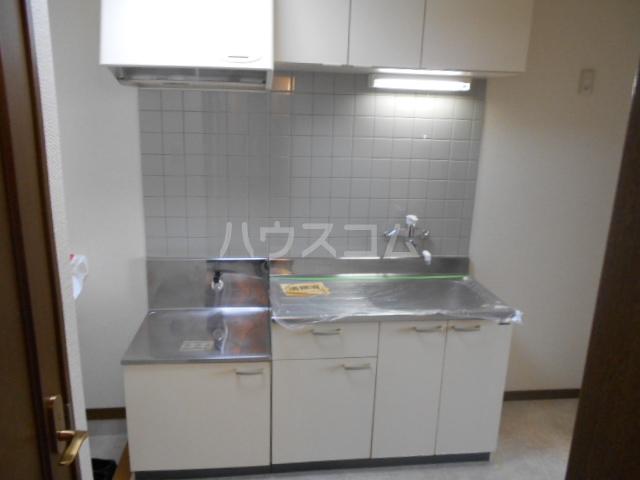 ピュアハイツ 202号室のキッチン
