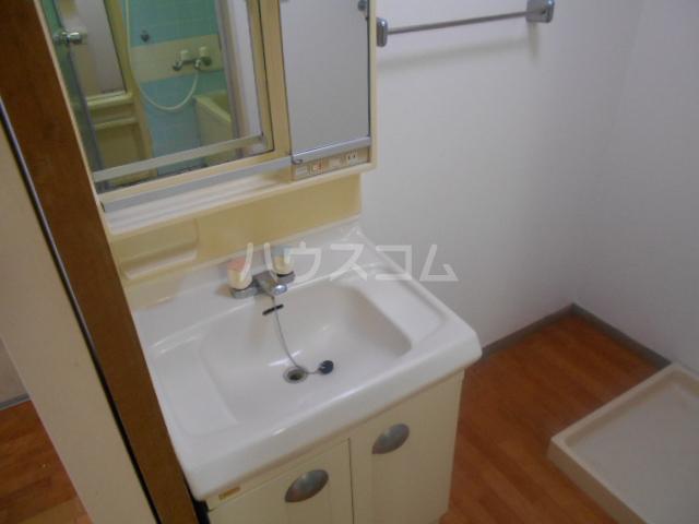 秀和レジデンス 202号室の洗面所