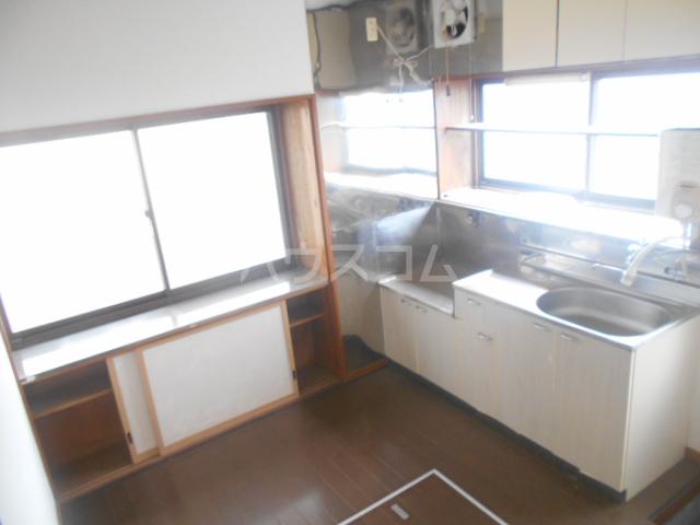 木村貸家D棟のキッチン