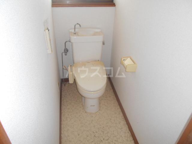 木村貸家D棟のトイレ