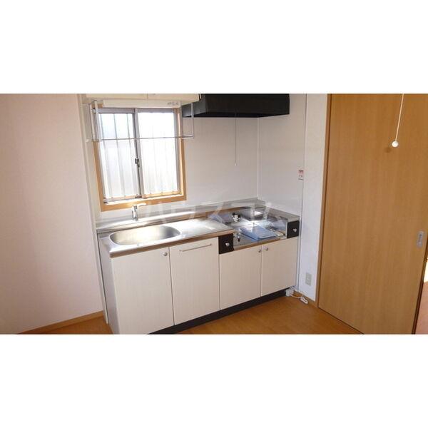 ハイツ・カトレア 202号室のキッチン