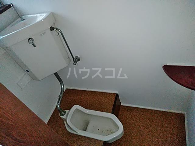 藤生アパートのトイレ