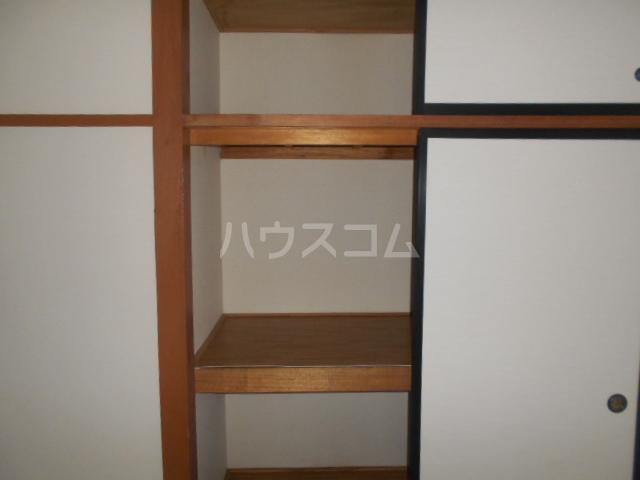 田村ハイツB 205号室の収納