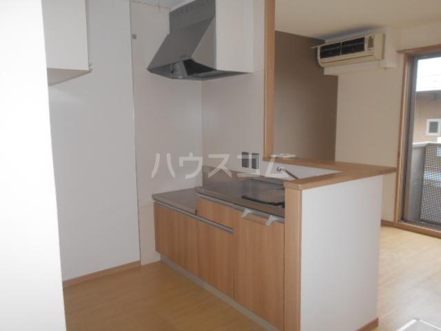 カモミールA 102号室のキッチン