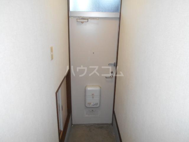 セピアハイツ 202号室の玄関