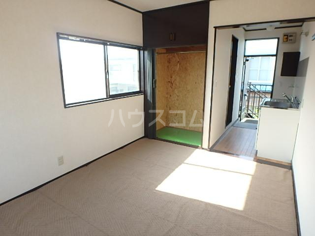 セントラルハイツ 201号室のベッドルーム