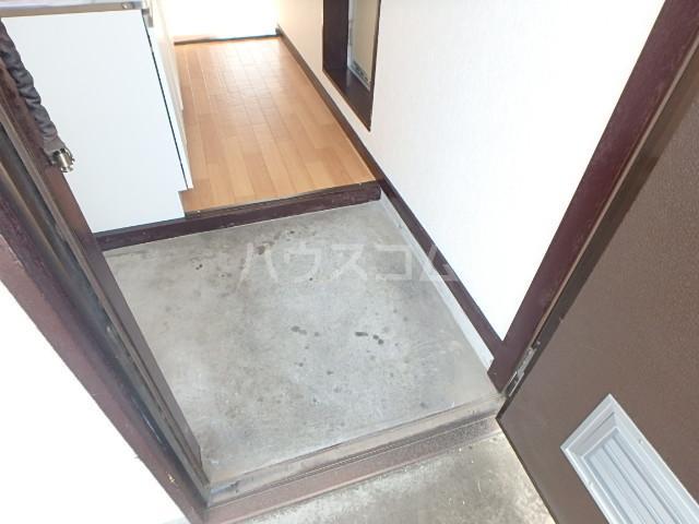 セントラルハイツ 201号室の玄関