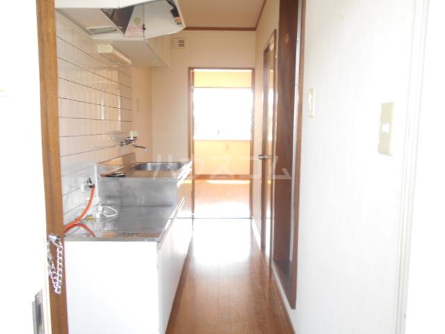 ハイツサンフラワー富岡 107号室のキッチン