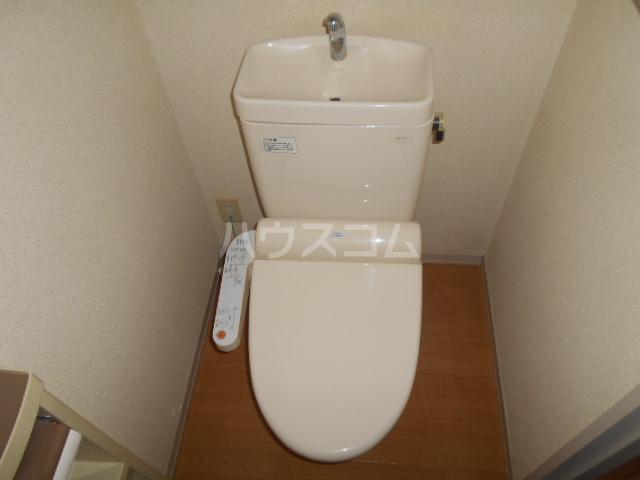 パークアベニューA 102号室のトイレ