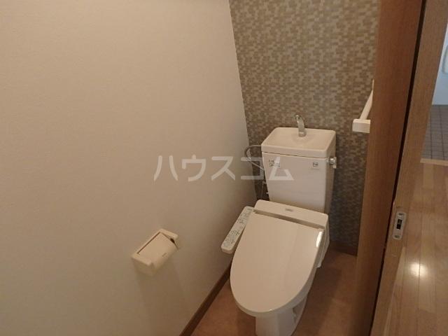 竹屋台ハウス3 3103号室のトイレ