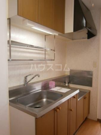 マ・メゾン 203号室のキッチン