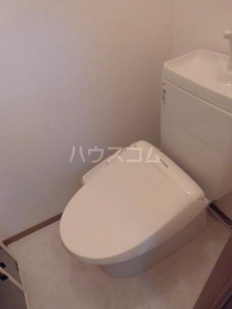 マ・メゾン 203号室のトイレ