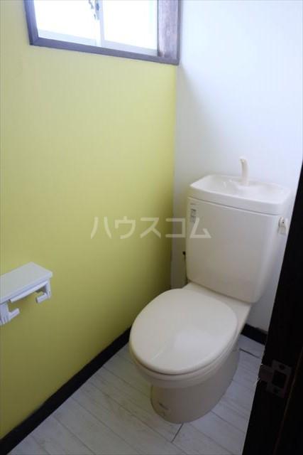 ハピネスコーポ A 101号室のトイレ