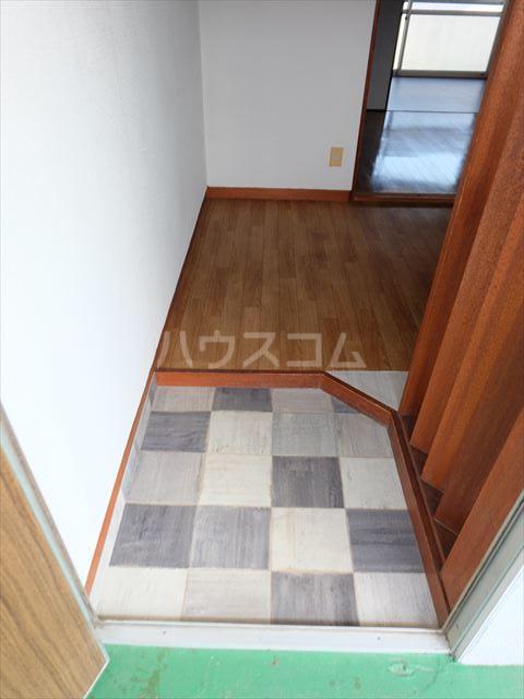 富士ハイツ 202号室の玄関
