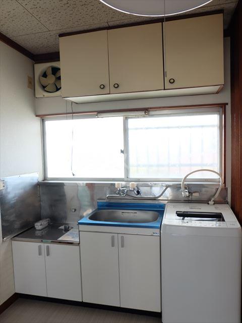 富士ハイツ 202号室のキッチン